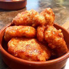Crunchy Honey BBQ Chicken Bites (Low Syn Fakeaway) Slimming World #BBQChickenRecipes
