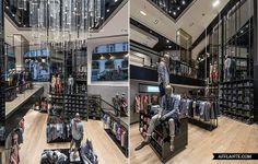 BOSS Store Paris Avenue des Champs-Elysee // Hollin+Radoske | Afflante.com