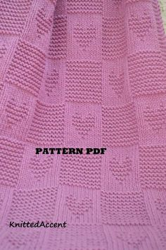 Baby Blanket PATTERN, only in ENGLISH, written instructions with diagram. Baby Blanket PATTERN written instructions with diagram. Baby Knitting Patterns, Free Baby Blanket Patterns, Crochet Blanket Patterns, Baby Patterns, Free Knitting, Simple Knitting, Afghan Patterns, Wool Baby Blanket, Knitted Baby Blankets