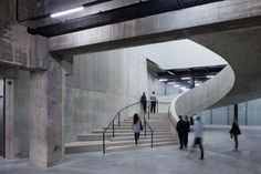 The New Tate Modern opens to the public on June 17th 2016.