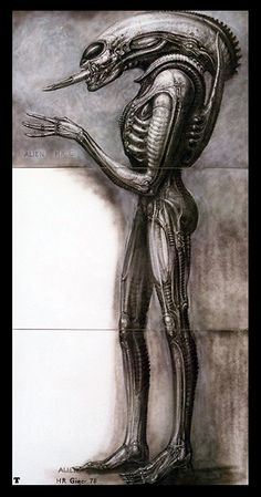 Alien II  H R GIGER