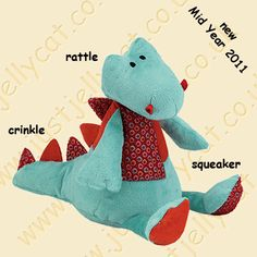 Jellycat's Dudley the Dragon