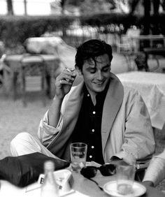 BEACH BABE- Alain Delon   Mark D. Sikes: Chic People, Glamorous Places, Stylish Things