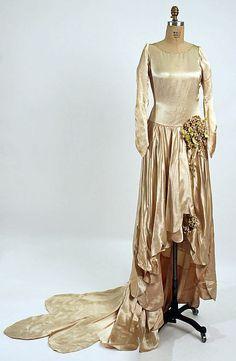 Wedding Dress 1928 The Metropolitan Museum of Art