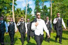 Awesome Groomsmen Photo Photo by VictoriaAngela.com