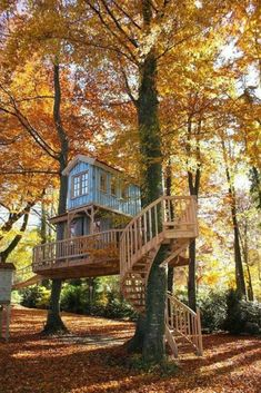 This two-story tree house stands on the shore of a lake in the south of Munich. - This two-story tree house stands on the shore of a lake in the south of Munich. Treehouse Living, Treehouse Kids, Backyard Treehouse, Cool Tree Houses, Small Houses, Tree House Designs, Beech Tree, Tree Tops, In The Tree
