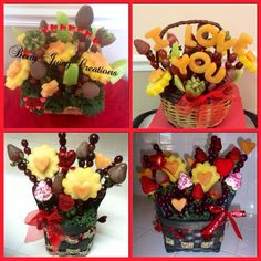 our valentine's day 'fruit bouquet'! | fruit & veges | pinterest, Ideas