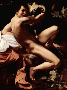 St John the Baptist - Caravaggio, Michelangelo (Italian, 1571 - Fine Art Reproductions, Oil Painting Reproductions - Art for Sale at Bohemain Fine Art Baroque Painting, Baroque Art, Classic Paintings, European Paintings, Italian Painters, Italian Artist, Michelangelo Caravaggio, Statue En Bronze, List Of Paintings