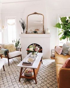 Gleaming Primrose Mirror | Living Room Decor Ideas