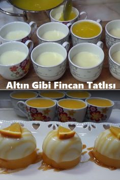 Turkish Recipes, Ethnic Recipes, Gold Cup, Juicy Fruit, Almond Butter, Ham, Panna Cotta, Food And Drink, Honey