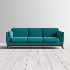 Clyde Sofa & Reviews | AllModern Contemporary Couches, Modern Sofa, Modern Contemporary, Sofa Upholstery, Fabric Sofa, Sofa Furniture, Modern Furniture, Teal Sofa, Beautiful Sofas