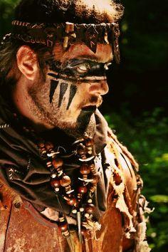 LARP costumebarbarian Archives - Page 2 of 2 - LARP costume Maquillage Halloween, Halloween Makeup, Larp, Viking Face Paint, Barbarian Costume, Barbarian Dnd, Tribal Face Paints, Dermaroller, Estilo Tribal