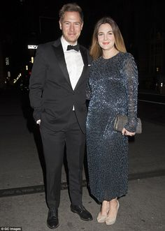 Happier times: On Saturday, Drew and her husband Will Kopelman confirmed they are divorcin...
