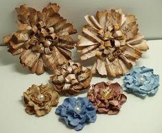 MagPie's Corner : I Love Making Flowers......