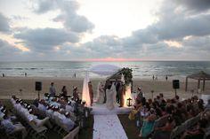 Wedding on Tel Aviv Beach,Israel