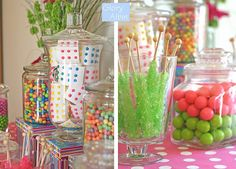 Awesome candy birthday party