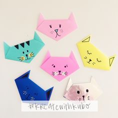 30 awesome origami crafts for kids Kids Crafts Origami Design, Diy Origami, Gato Origami, Origami Simple, Origami Fish, Origami Folding, Paper Crafts Origami, Useful Origami, Origami Stars