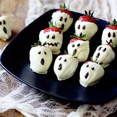 Ghostly Strawberries