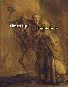 Everybody Hurts, It Hurts, Classical Art Memes, Where Is My Mind, Darkness Falls, I Can Relate, Dark Art, Things To Think About, Laughter