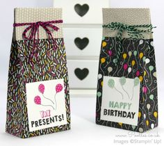 Stampin' Up! Demonstrator Pootles - It's My Party Huge Bag using Stampin' Up…