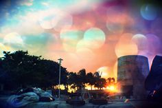 Bokeh Sunset by Hev-Ding, via Flickr @Reef Village, Grand Lucayan, Grand Bahama Bahamas Resorts, All Inclusive, Bokeh, Clouds, Island, Sunset, Photo And Video, World, Outdoor