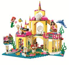$27.15 (Buy here: https://alitems.com/g/1e8d114494ebda23ff8b16525dc3e8/?i=5&ulp=https%3A%2F%2Fwww.aliexpress.com%2Fitem%2F2016-New-Bela-Mermaid-Ariel-s-Undersea-Palace-Building-Blocks-41063-Buildable-Figures-Compatible-Legoelieds-Princess%2F32660211434.html ) 2016 New Bela Mermaid Ariel's Undersea Palace Building Blocks 41063 Buildable Figures Compatible Legoelieds Princess for just $27.15