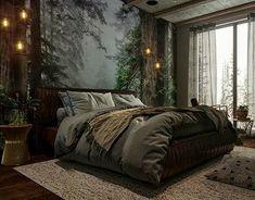 Dream Rooms, Dream Bedroom, Home Decor Bedroom, Modern Bedroom, Dark Cozy Bedroom, Bedroom Bed, Feminine Bedroom, Bedroom Signs, Master Bedrooms