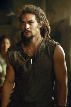 Stargate Atlantis - Jason Momoa as Ronon Dex, the ultimate Satedan Warrior.