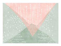"""Digitaldruck - Print """"another world"""" DIN A 4 - ein Designerstück von TreeChild bei DaWanda"""