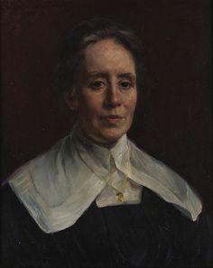 Hildegard Throrell - Portrait of Fanny Brate [1918] | Flickr - Photo Sharing!