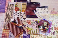 April 2011 Kit: Life…Be Still    little black dress kit club monthly scrapbook kit club