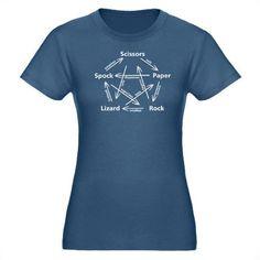 Lizard Spock t-shirt