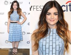 Lucy Hale In Tibi – PaleyFest 2014 Honouring 'Pretty Little Liars'
