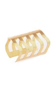 Brazalete Tentáculos Jewelry bangle dorado joyas de colombia