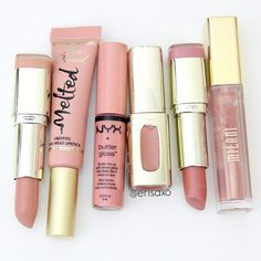Pink nude lipsticks for spring and summer
