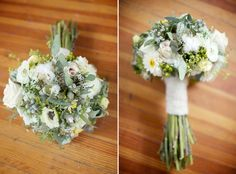 Herb and Wildflower Brides Bouquet  as seen on SMP