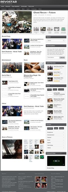 Fully widgetized premium magazine / news WP theme. This theme is designed by MiracSinir and it is available for purchase at ThemeForest