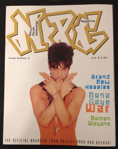 Prince NPG Magazine Issue 2 Official Paisley Park Morris Hayes Nona Gaye