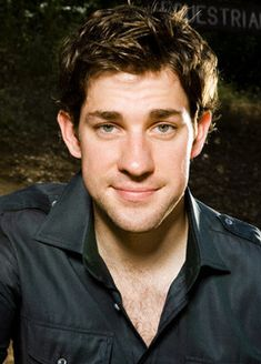 Eyes. Hair. Great voice. Funny but not obnoxious. I'm no longer a fan of The Office, but my love for John Krasinski lives on.