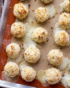 Coconut Crusted Brie Stuffed Quinoa Bites