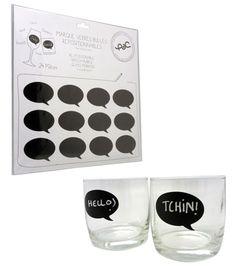 keladeco.com - marque verre bulle repositionnable, lot de 24 marques verre, soirée, #apero, party