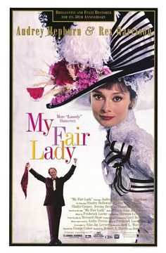 Cute Ms. Doolittle (Audrey Hepburn) is ghastly blasted by accent mocker and linguistic specialist, Higgins (Rex Harrison) whose inclination towards perfect English accent makes him take up a challenge to turn Doolittle into a upward class lady. Funny and beautiful.
