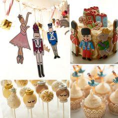 A Sweet Nutcracker-Inspired Party For Little Ballerinas