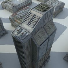 3D MODEL: https://www.turbosquid.com/3d-models/3d-sci-fi-futuristic-city-model/844711?referral=cermaka