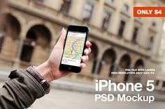 Check out Black iPhone 5 with hand mockup by Jan Vašek on Creative Market #mobile #iphone #mockup www.jeshoots.com