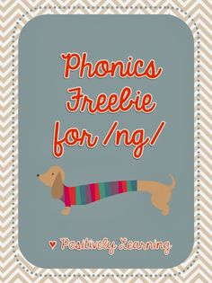Classroom Freebies: Phonics Final Blends Freebie!