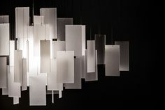 Cumulus 30 x 22 Chandelier detail - white eco-resin Stage Lighting Design, Stage Design, Chandelier Lighting, Lighting Ideas, Custom Lighting, Modern Lighting, Blitz Design, Simply Home, Architecture Awards