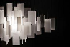 Cumulus 30 x 22 Chandelier detail - white eco-resin Stage Lighting Design, Stage Design, Lighting Ideas, White Chandelier, Chandelier Lighting, Custom Lighting, Modern Lighting, Blitz Design, Simply Home