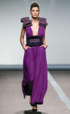 Miguel Palacio Madrid Fashion Week otoño-invierno 14/15