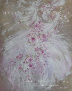 Tutu's Spring Original Painting by Debi Coules available at www.debicoules.com